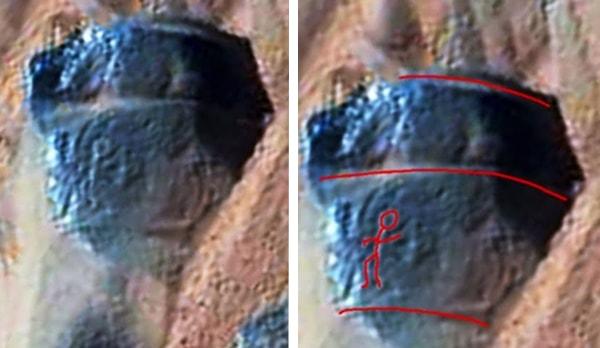 петроглифы на марсе