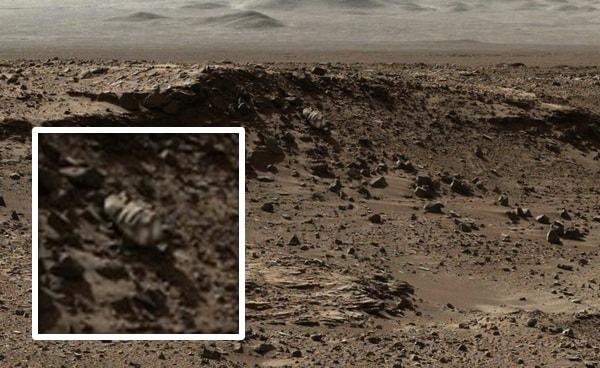 загадочный объект на марсе