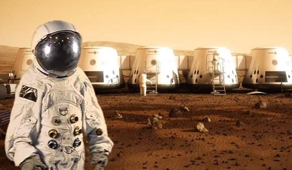 полет человека на марс