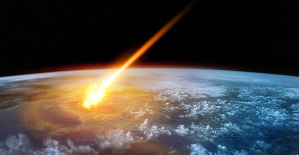 взрыв астероида в атмосфере