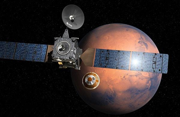 экзо марс орбитальный и спускаемый аппарат