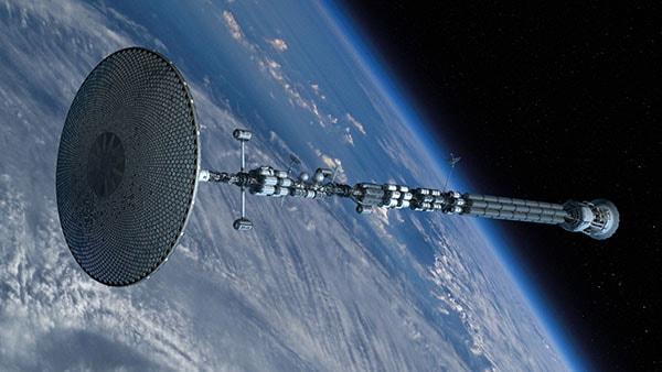 радиационный зонтик космического корабля