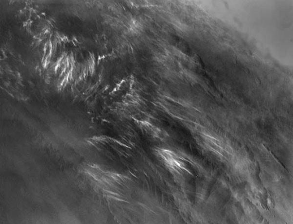 облака с орбиты