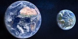 земля, марс в прошлом